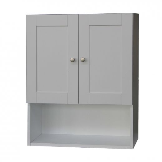 Classic White Wall Cabinet