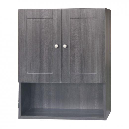 Classic Black Elmwood Wall Cabinet