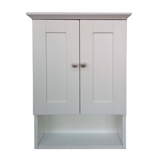 """18"""" Classic White Wall Cabinet"""