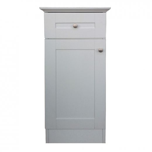 "14.5"" Classic White Floor Cabinet"