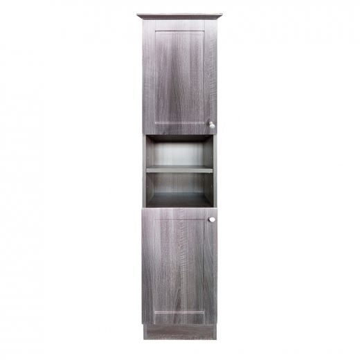 "15.1"" Black Elmwood Floor Cabinet"