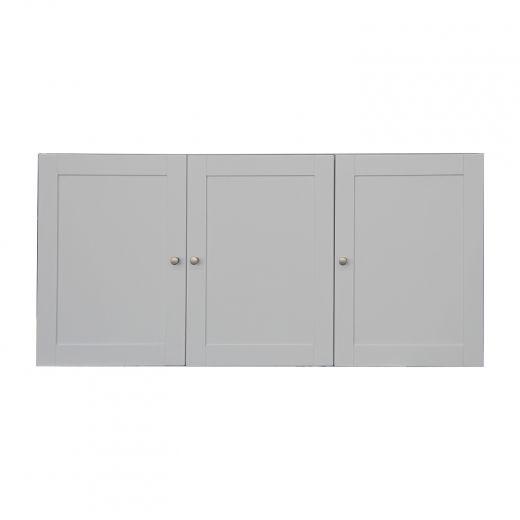 Classic White 3 Door Laundry Storage Cabinet