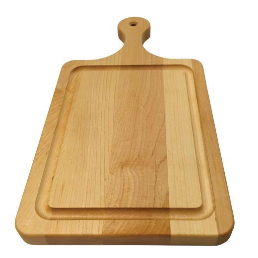 "16"" x 8"" x 3/4"" Maple Chopping Paddle"