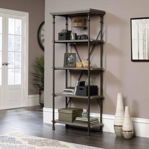 Canal Street 5-shelf Bookcase