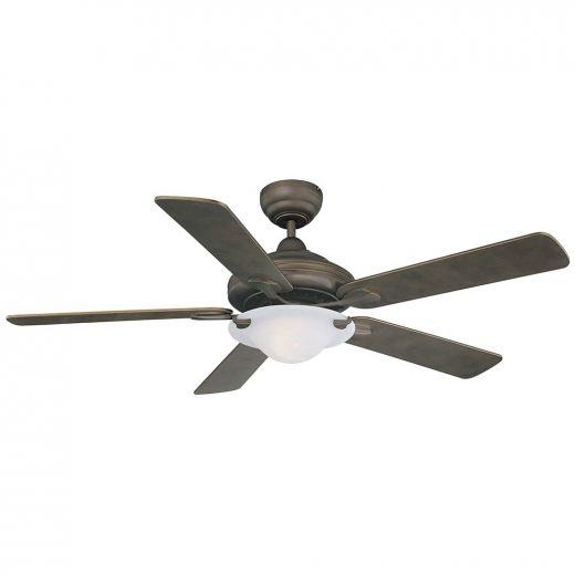 Nouveau Oil Rubbed Bronze Indoor Ceiling Fan