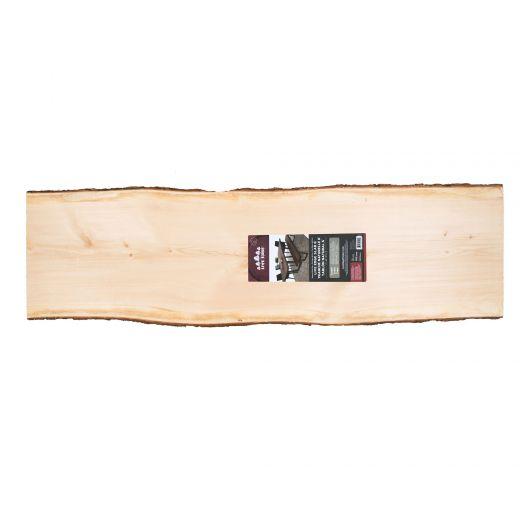 "2"" x (15""-19"") x 6' Live Edge Pine Timber Slab"