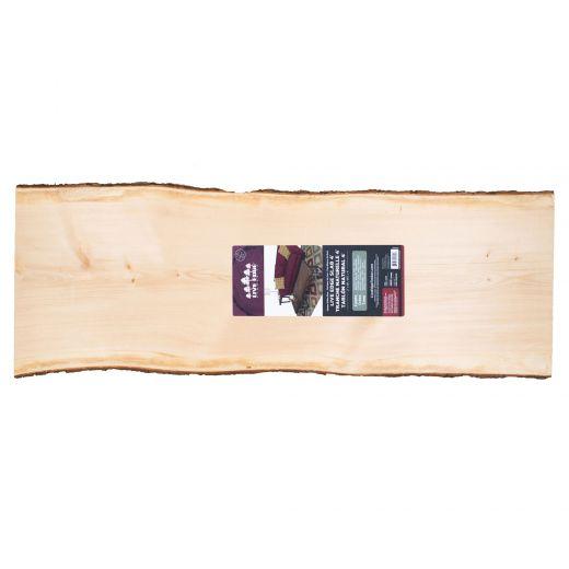 "2"" x (15""-19"") x 4' Live Edge Pine Timber Slab"