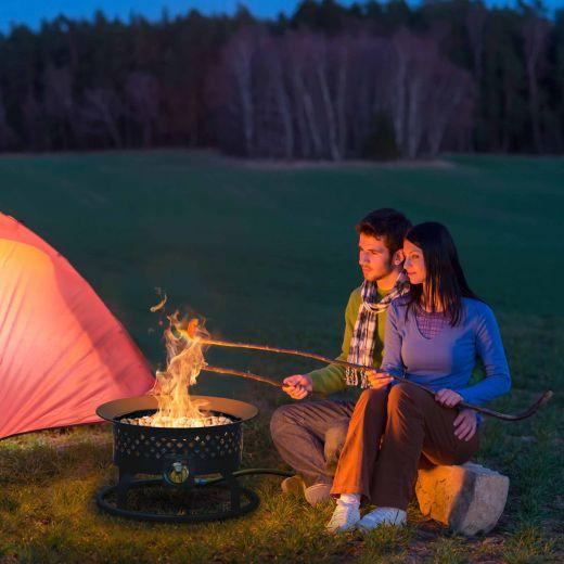Portable Gas Fireplace Aurora