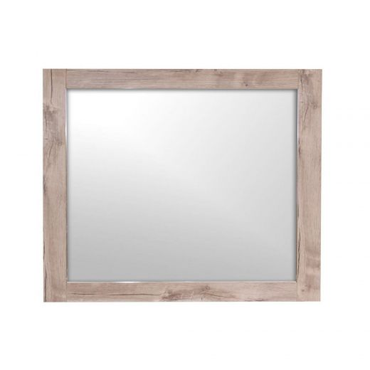 """36"""" Relax Natural Wood Mirror"""