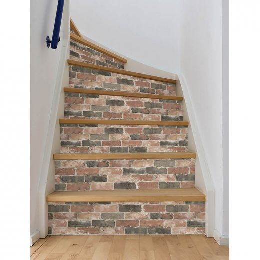 Newport Reclaimed Brick Peel And Stick Wallpaper