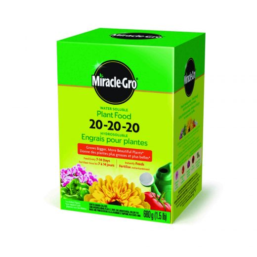 Miracle-Gro Water Soluble 20-20-20 680 G