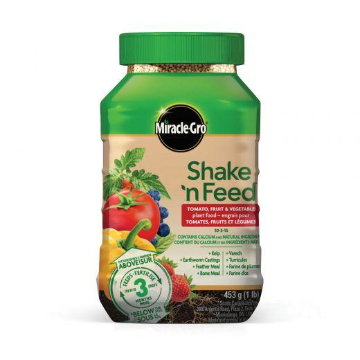 Miracle-Gro Shake 'N Feed Tomatoes, Fruits & Vegetables 453g