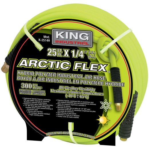 Hybrid 25 Foot Air Hose 1/4 Inch