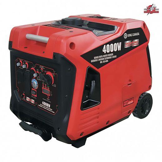 4000W Gas Inverter Generator