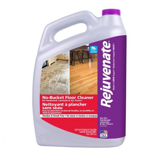 Rejuvenate 128 oz No-Bucket All Floors Cleaner Refill