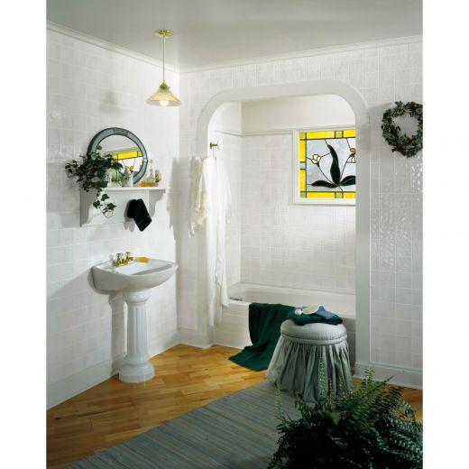 4 x 8 Toned White Tile Board - Fully Waterproof
