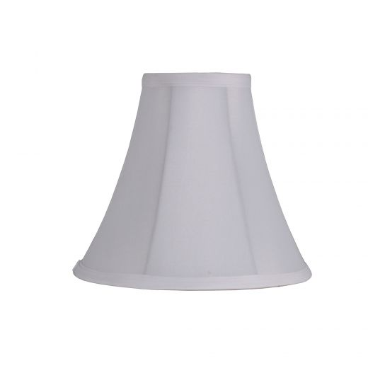 Small Classic Bell Tall White Shade