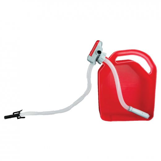 Battery Powered Fuel Transfer Pump with Auto Stop