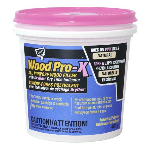 Dap Wood Pro-x All Purpose Wood Filler With Drydex 453g