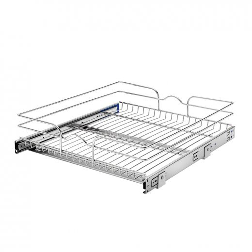21 Inch Single Pull-Out Basket Soft Close