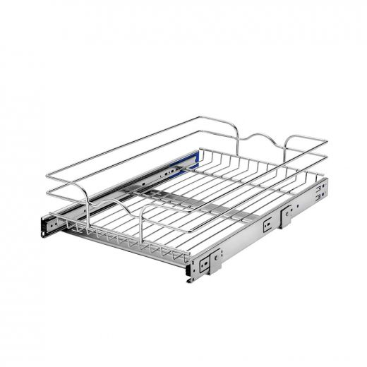 15 Inch Single Pull-Out Basket Soft Close
