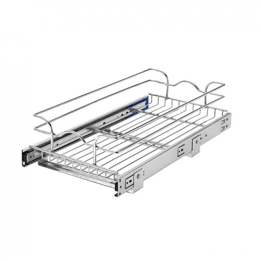 12 Inch Single Pull-Out Basket Soft Close