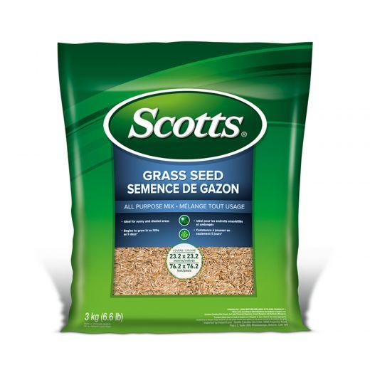 Scotts Grass Seed All Purpose Mix 3 Kg