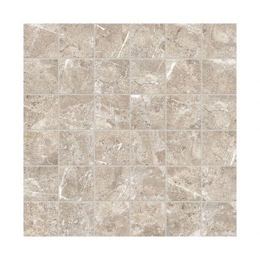 "2"" x 2"" Regency Sand High Definition Porcelain Mosaics"