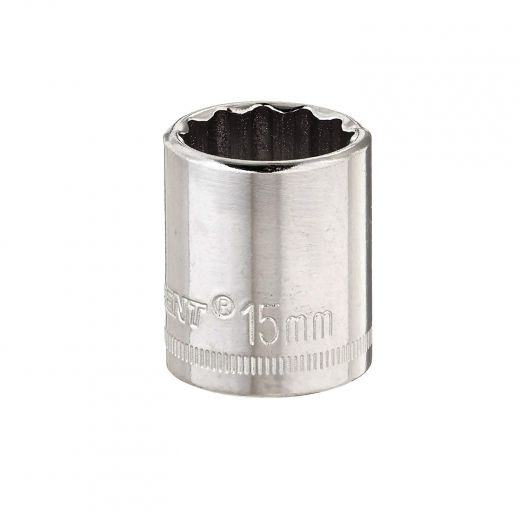 3/8 Inch Drive 15 mm Socket-12 Point
