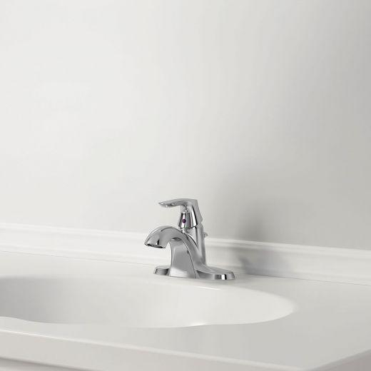 """Bedminister 4"""" Centerset 1 Handle Lavatory Faucet Chrome"""