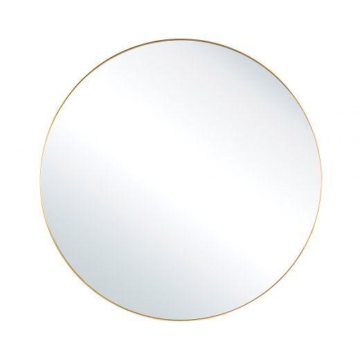 "Gold 20"" Diameter Solange Mirror"