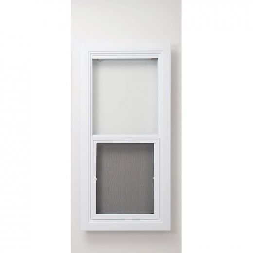 """20"""" x 30"""" Vented PVC Shed Window"""