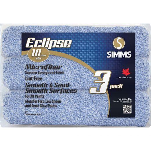 Eclipse Microfiber Roller-3/Pack