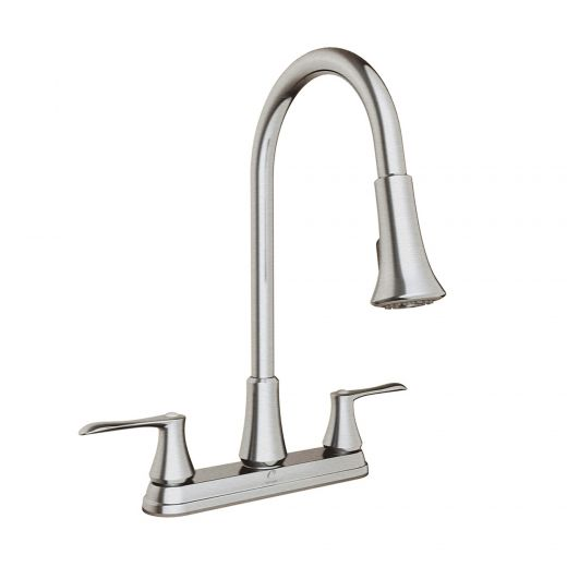 Kitchen Faucet with Swivel Spout & Pull-Down Spray