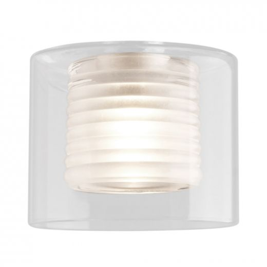 Lubik Frosted Clear Glass Shade