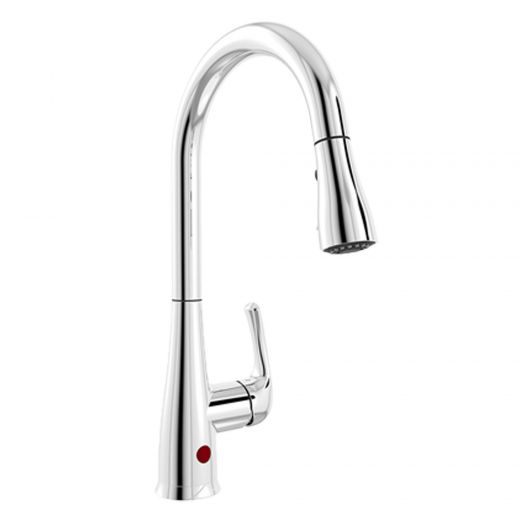 Kitchen Sensor Activated Faucet with Pull-Down Spout Chrome