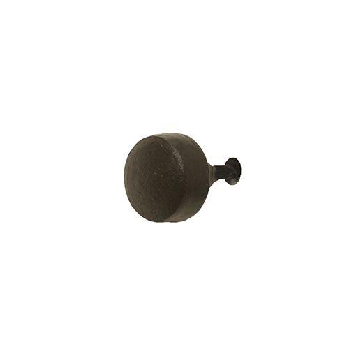 "1.25"" Round Cast Iron Knob"