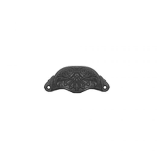 """4"""" Cast Iron Drawer Pull with Design"""