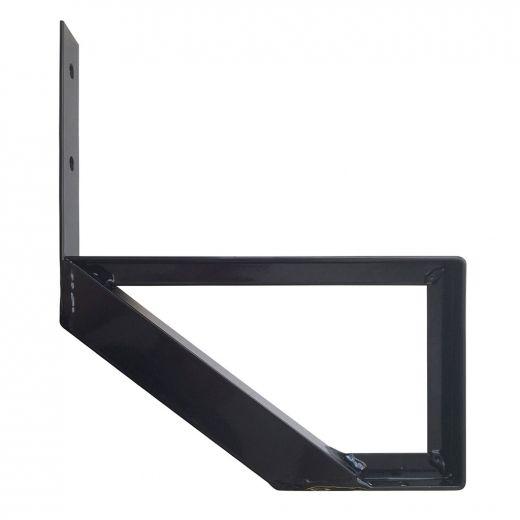 Aluminum 1 Step Black Stair Riser
