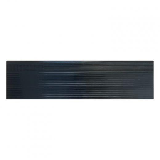 """60"""" Black Aluminum Stair Tread"""