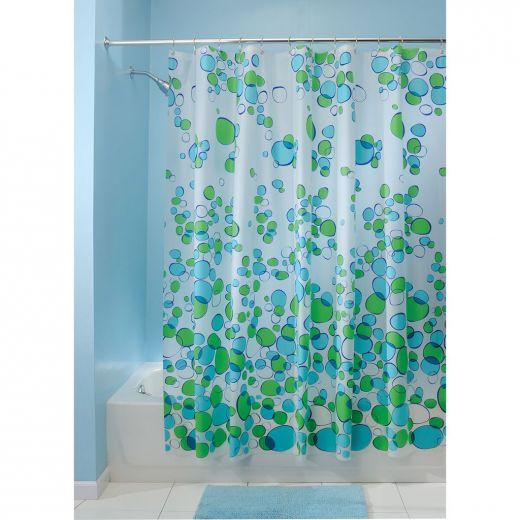 Bubblz PEVA Shower Curtain