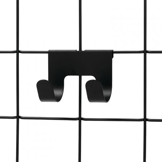 Black Jayce Double Hook-2/Pack