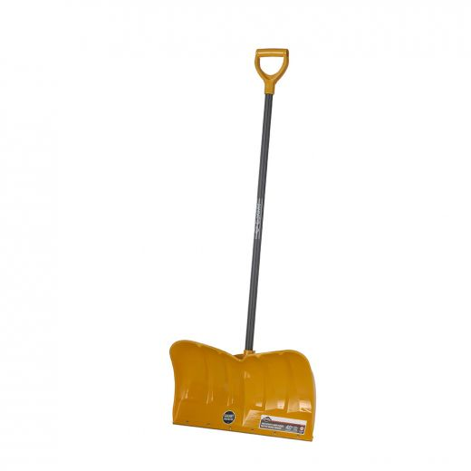 """22"""" Poly Snow Pusher With Scraping Steel Wear Strip"""