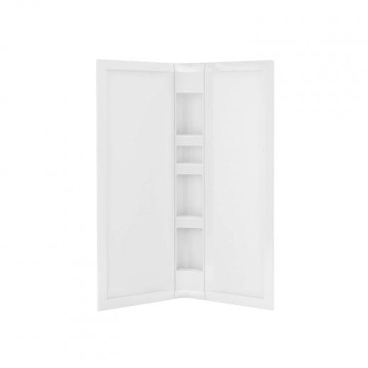 "40"" Corner 3 Piece Acrylic Wall Set"