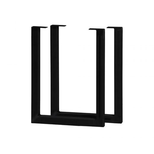 "20""H x 15""W Black U Legs-2/Pack"