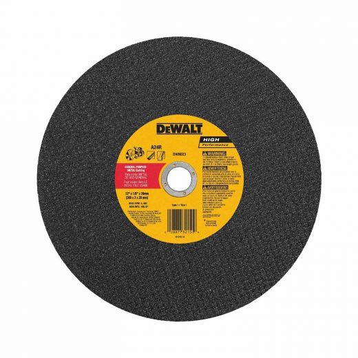 12 Inch x 1/8 Inch Abrasive Metal Cutting Wheel