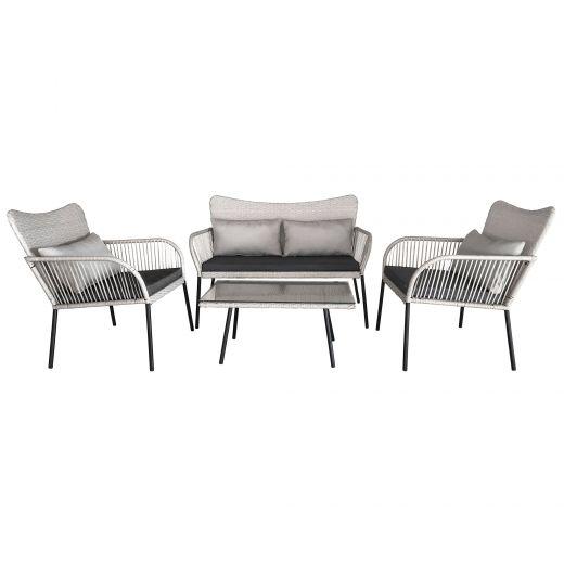 4 Piece Lounge Set