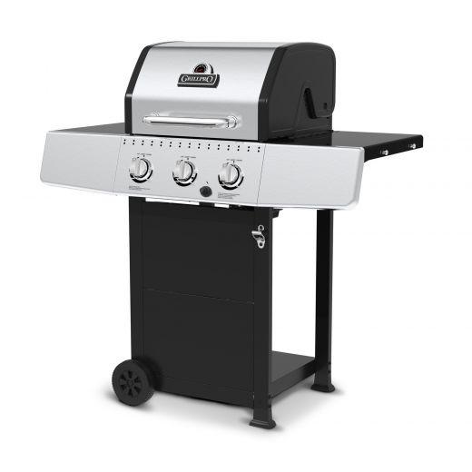 GrillPro 3 Burner 30,000 BTU Liquid Propane Cart Gas Grill