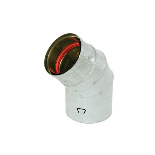 "Selkirk 4"" x 45 Degree Elbow Pellet Vent"