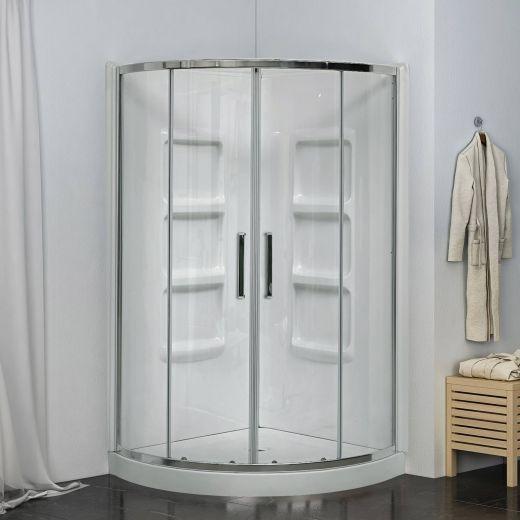 """38"""" Round Shower Kit"""